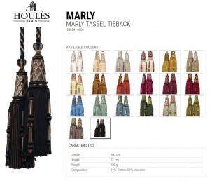 HOULES(ウーレス) 装飾タッセル、タイバック MARLY・35434
