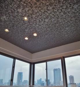 輸入壁紙 天井 バラ