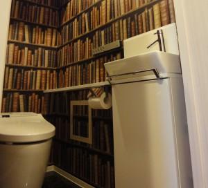 輸入壁紙 DIY トイレ