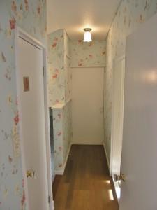 廊下 輸入壁紙 花柄
