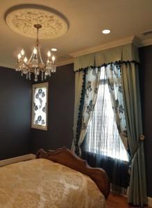 デザイナーズギルド カーテン 寝室