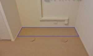 ピアノ室 遮音カーペット