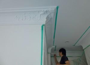 装飾モールディング 工事