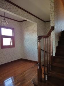 階段・廊下 モリス 壁紙