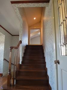 ウィリアム・モリス 壁紙 階段