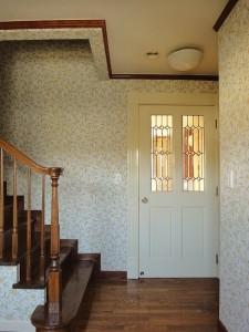 ウィリアム・モリス 壁紙 玄関