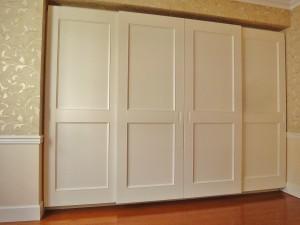 マンション 寝室 クローゼット リフォーム
