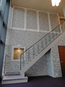 マンション メゾネット階 階段