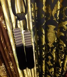 装飾タッセル 黒 コージャス