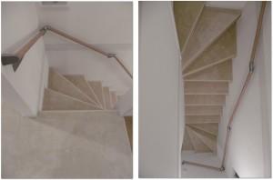 階段 カーペット 工事