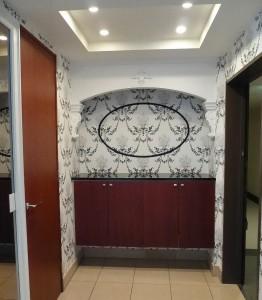 装飾ニッチ,玄関
