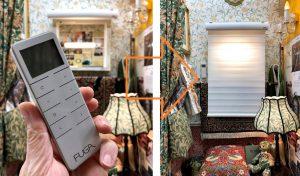 FUGA 調光ロールスクリーン コードレス充電電動 ECO RIMO エコリモ