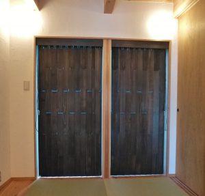 ヒノキ ブラインド 和室