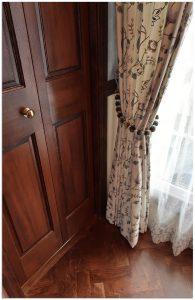 マナテックス 刺繍カーテン