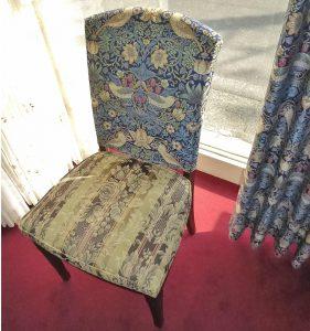 椅子カバー ウィリアム・モリス