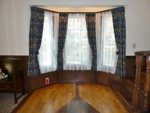川島織物セルコン いちご泥棒 カーテン