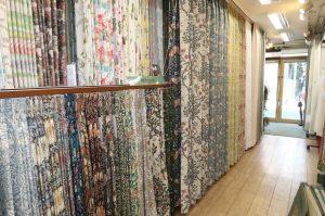 川島織物セルコン ウィリアム・モリス カーテン