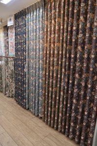 川島織物セルコン いちご泥棒 カーテン 特価