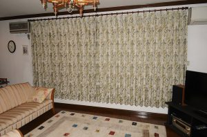 川島織物セルコン ヌーボーアイリス カーテン FF1166 事例