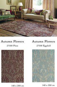 ウィリアム・モリス Autumn Flowers ラグ