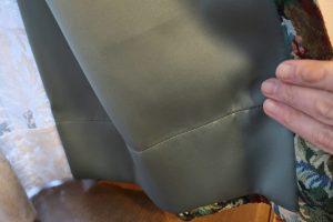 ゴブラン織り カーテン 裏地