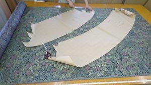 装飾バランス バイアス 縫製