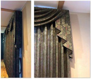 川島織物セルコン FF1038 ラーモ カーテン 事例
