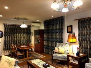 クリサンティマム カーテン 川島織物セルコン 価格 取扱店