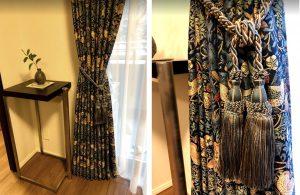いちご泥棒 カーテン 装飾タッセル