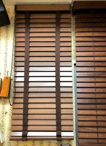 ナニック Gシリーズ ウッドブラインド クロステープ 展示 取扱店
