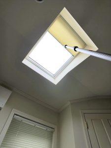 ハニカムスクリーン トップライト 天窓 傾斜窓 コードレス