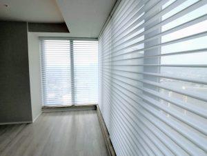 ハンターダグラス シルエットシェード コーナー窓 事例 ブログ