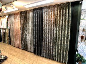 川島織物セルコン モリス デザインスタジオ 新作 カーテン 取扱店 価格