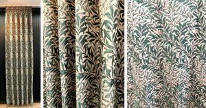 ウィローボウBL FF1505 遮光カーテン 価格 川島織物セルコン ウィリアム・モリス