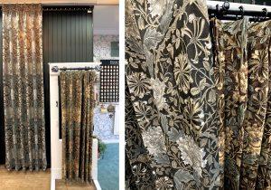 ハニーサクル&チューリップ ウィリアムモリス カーテン 川島織物セルコン マナトレーディング 比較