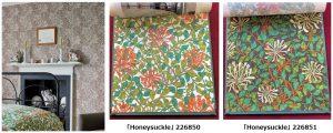 Honeysuckle 226850 226851  ウィリアムモリス ファブリック