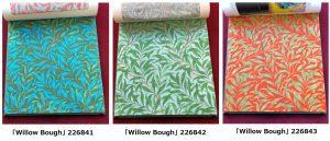Willow Bough 226841 226842 226843  ウィリアムモリス ファブリック
