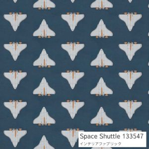 Space Shuttle ハーレクイン スペースシャトル 宇宙船 カーテン
