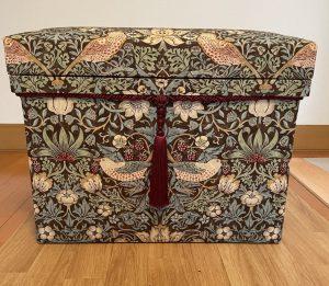 いちご泥棒 インテリア茶箱 ウィリアム・モリス
