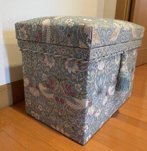 インテリア茶箱 ウィリアム・モリス いちご泥棒 カルトナージュ