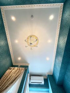 6帖 天井 装飾モールディング
